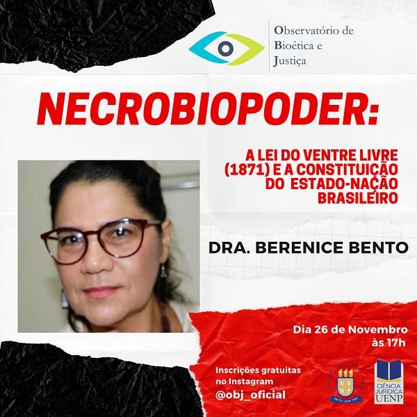 Necrobiopoder: A Lei do Ventre Livre (1871) e a constituição do Estado-Nação brasileiro