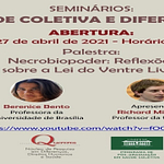 Seminário: Saúde coletiva e diferenças