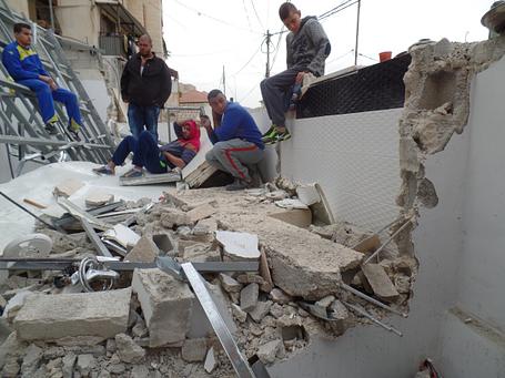 Jerusalém Oriental – Demolição em Silwan. ©EAPPI/Berenice B